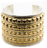 Studded Gold Fame Cuff