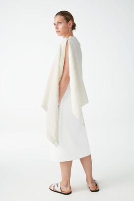 Cos Textured Cotton Hybrid Scarf