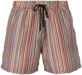 Paul Smith striped swim shorts