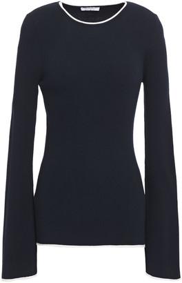 Ninety Percent Ribbed-knit Sweater
