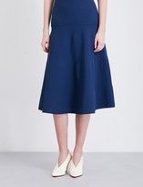 Royal Blue A-line Skirt - ShopStyle