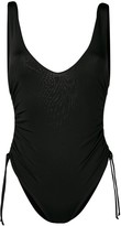 Fisico ruched side swimsuit