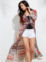 GUESS Gisela Floral Duster