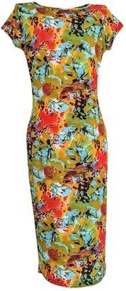 Non Signã© / Unsigned Multicolour Polyester Dresses