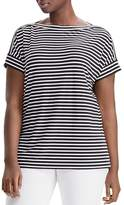 Lauren Ralph Lauren Plus Striped Tee