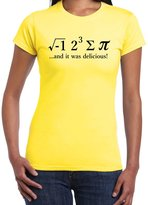 StarliteFunnyTShirts Starlite-Womens Funny Tshirts-I 8 (ate) SUM Pie-Chemistry T-Shirts-funny gifts