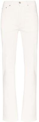 Sunflower High-Waisted Straight-Leg Jeans