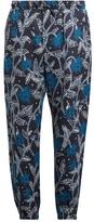 Etro Floral-print linen trousers