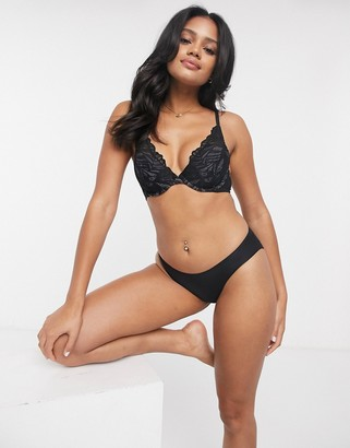 Cotton On party pants seamless brief in black