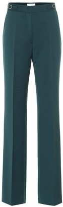 Gabriela Hearst Vesta stretch-wool wide-leg pants