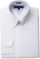 Tommy Hilfiger Men's Regular Fit Grid Check Dress Shirt