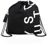 McQ Leather Graphic Printed Backpack