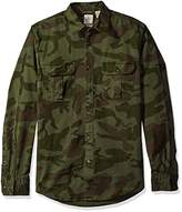 Dockers Twill Long Sleeve Button Front Shirt