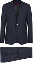 Hugo Alin/wyns/hetlin Wool Three-piece Suit