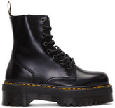 Dr. Martens Black Eight-Eye Jadon Boots