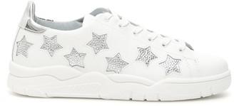 Chiara Ferragni Crystal Stars Sneakers