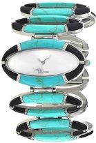 Roberto Cavalli R7253159025 Women's Turquoise 'Stones' Watch