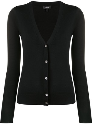 Theory V-Neck Cardigan