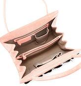 Nancy Gonzalez Wallis Medium Butterfly Crocodile Tote Bag
