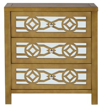 3 Drawer Mirrored Chest Shop The World S Largest Collection Of Fashion Shopstyle