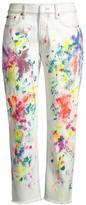 Polo Ralph Lauren Avery Boyfriend Splatter Jeans