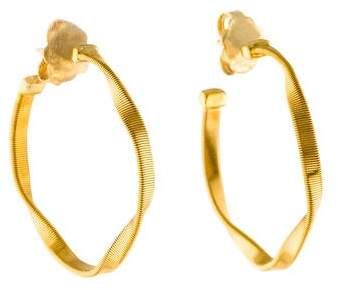 Marco Bicego 18K Marrakech Twist Hoop Earrings