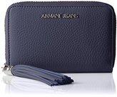 Armani Jeans Small Zip Tassel Wallet