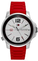 Tommy Hilfiger Men's 1791219 Cool Sport Analog Display Japanese Quartz Red Watch
