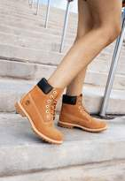 Missguided Timberland Brown Wheat 6 Inch Waterbuck Boots