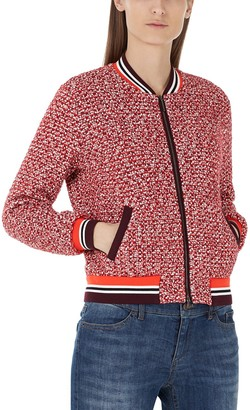 Marc Cain Women's KS 31.24 M06 Bomber Jacket
