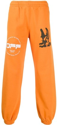 Off-White Diag Cartoon track pants