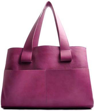 Shopper Medium In Hot Pink