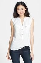 Wallis Sleeveless Utility Shirt