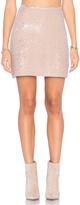Michael Stars Sequin Mini Skirt