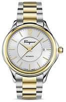 Salvatore Ferragamo Time Two-Tone Automatic Watch, 41mm