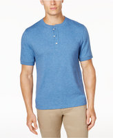 Club Room Men's Cotton Henley, Created for Macy's