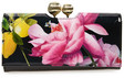 ted baker london marggo citrus bloom printed leather matinee wallet