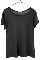 Ragdoll LA DISTRESSED VINTAGE TEE Faded Black