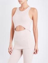 adidas by Stella McCartney Yoga Comfort stretch-jersey top
