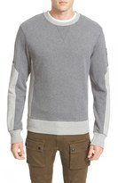 Belstaff Men's Matterley Extra Trim Fit Two Tone Sweatshirt