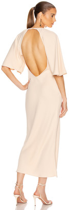 Georgia Alice Backless Bestie Dress in Peach | FWRD