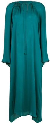 Voz Long-Sleeve Flared Dress