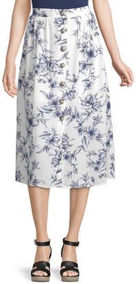 Byer California Womens Mid Rise Maxi Skirt - Juniors