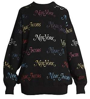 Marc Jacobs Women's New York® Magazine x The Waist Cincher Oversized Pullover