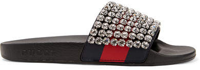9b7f4ed7132 Gucci Rubber Sandals - ShopStyle