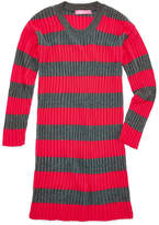 Say What Long Sleeve Stripe Tunic Sweater - Girls' 7-16