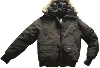 Canada Goose Chilliwack Black Synthetic Coats