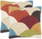 Safavieh 2-piece Rainbow Mountain Outdoor Throw Pillow Set