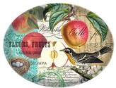 Michel Design Works Glass Soap Dish, Sweet Apple