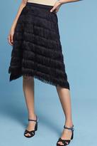 Eva Franco Fringe-Point Skirt